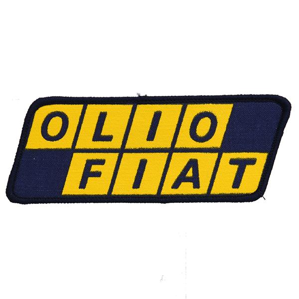 Olio Fiat Logo Patch Italian Auto Parts Gagets